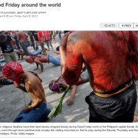Christian Celebrating Good Friday [Full Blood Pictures]